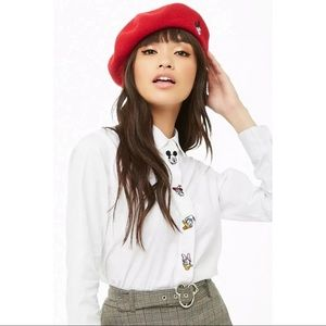 Mickey Mouse 90th x Forever 21 Patch Shirt